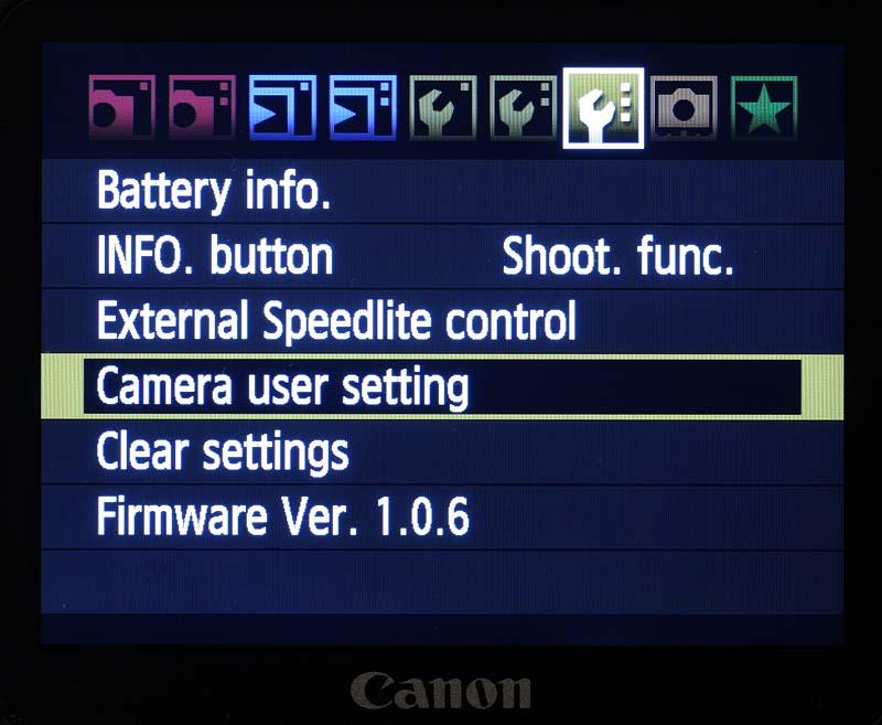 camera-user-setting
