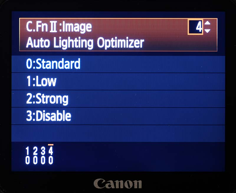 menu-auto-lihgting-optimizer