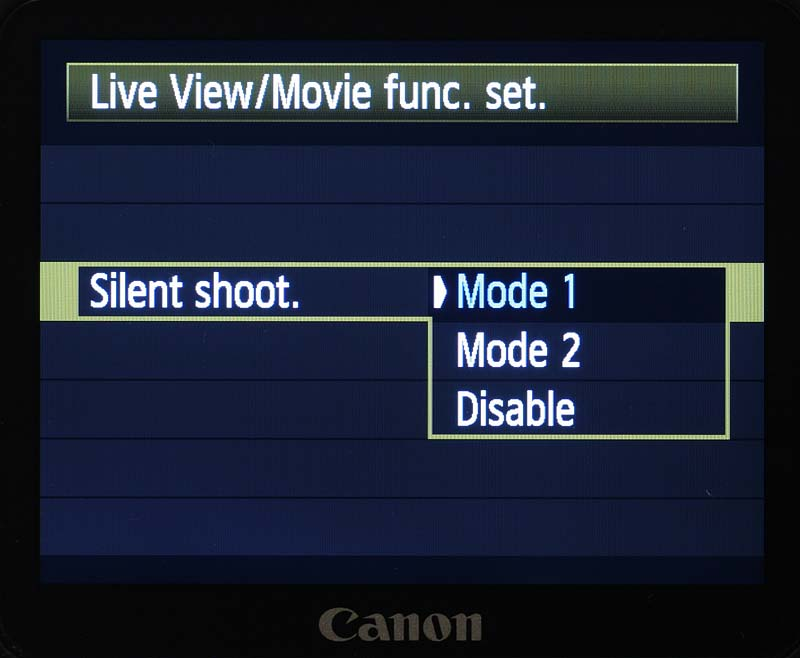 menu-liveview-silentmode