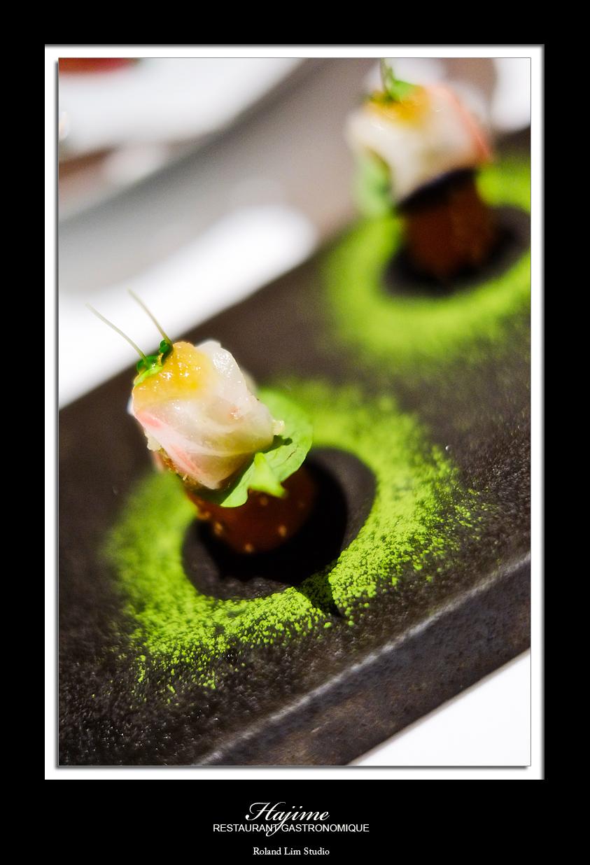 Gastronomique restaurant hajime the world according to for Amuse bouche cuisine